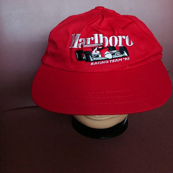 Habitat Industries Other - Marlboro hat Racing Team  92 VINTAGE red like new f9a93b2d893